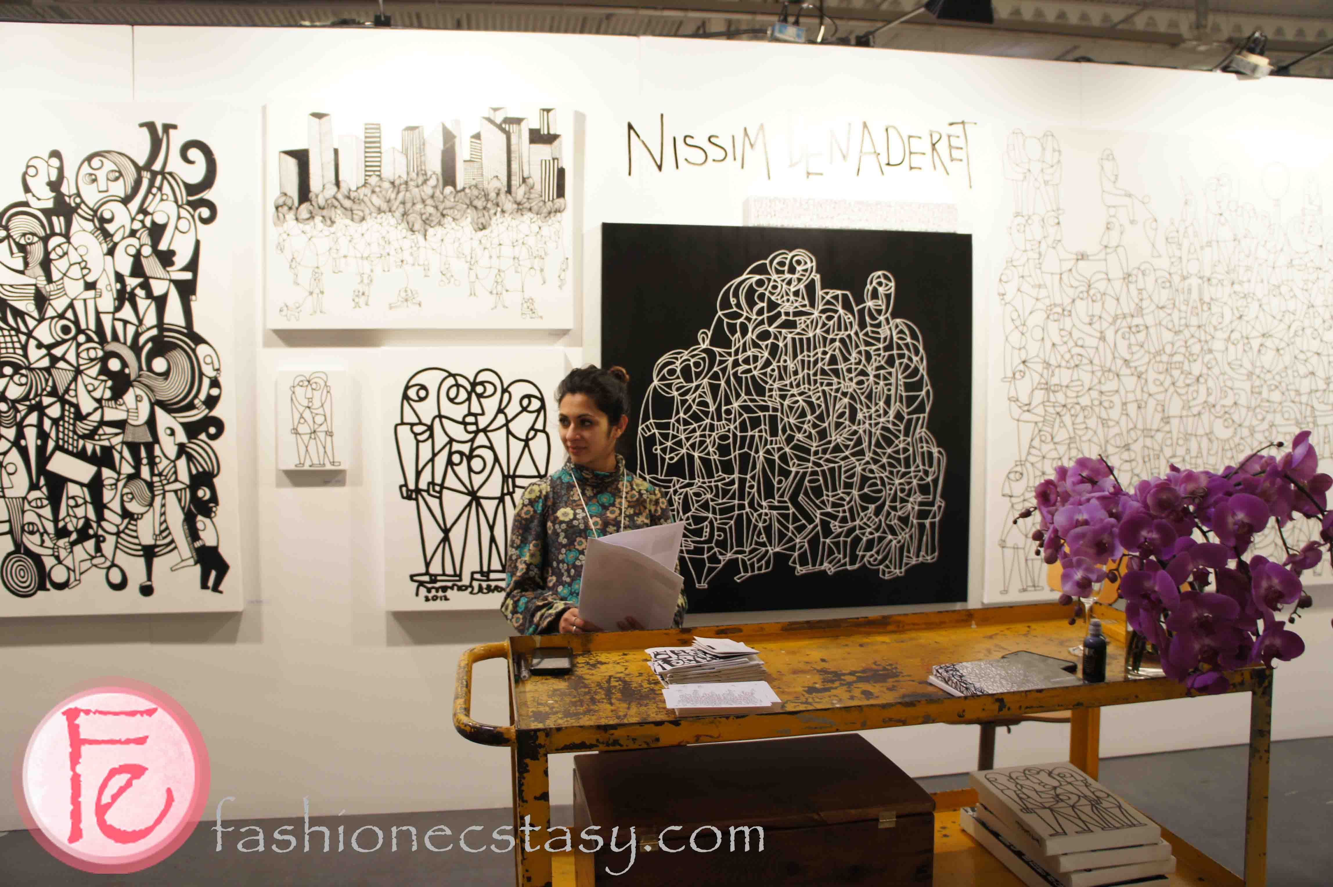 the artist project opening night preview party nissim benaderet published 23 2013 at 4592 × 3056 in