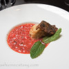 strawberry gazpacho Kultura Summer Menu Tasting