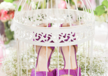 nine west heals in cage garden party spring/summer 2015 collection preview