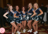 cheer leaders conn smythe sports celebrities dinner and auction 2015